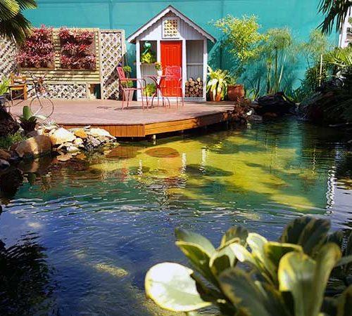 Filtragem profissional para lagos ornamentais de alto padrão