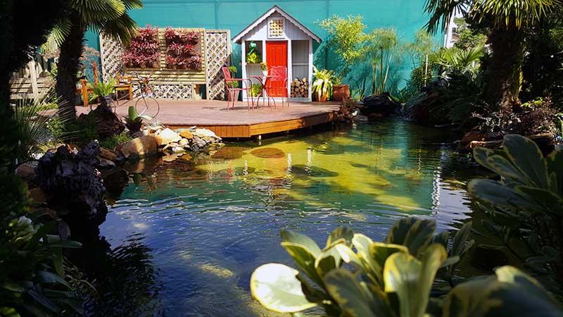 Filtragem profissional para lagos ornamentais