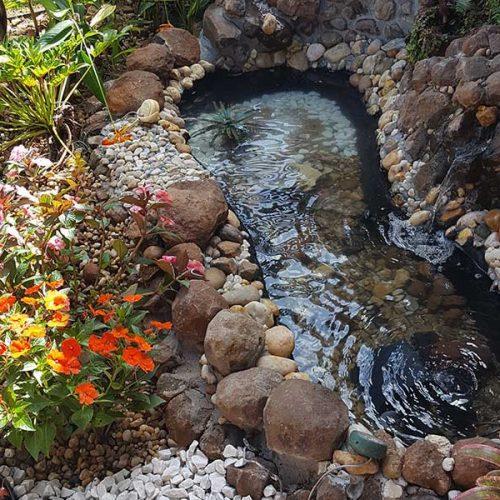 Impermeabilizante para lago de alvenaria