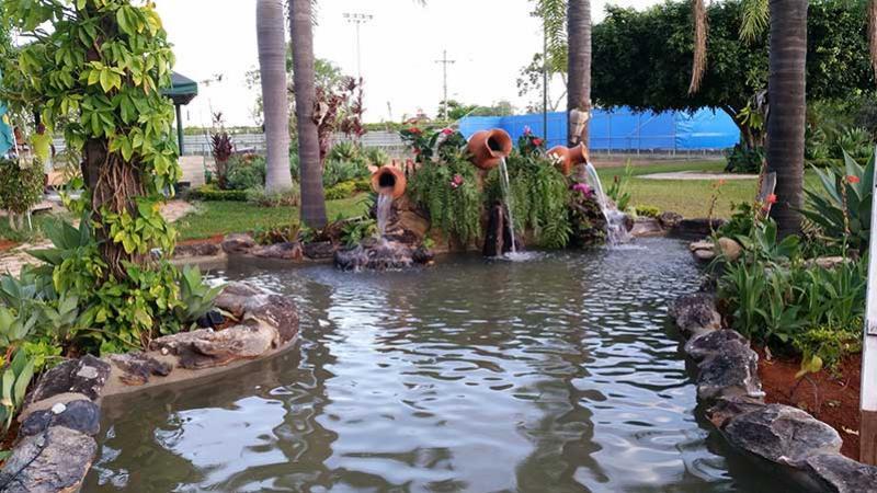 montar um lago artificial