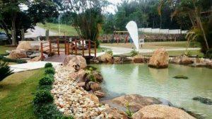 Lagos ornamentais com filtro para lago da Cubos