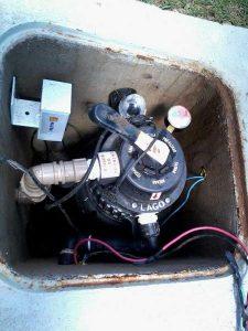 Lagos em condomínios com filtro biológico