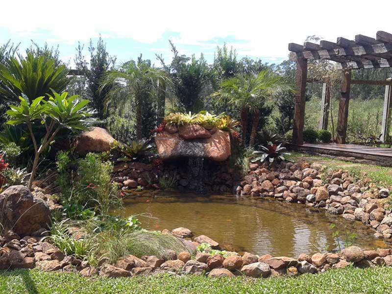 Lago em casa para valorizar o jardim