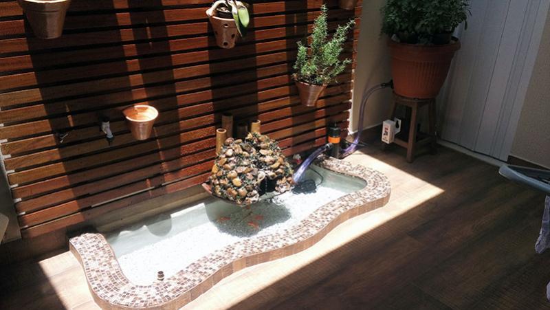 Filtro Vaso para lagos ornamentais