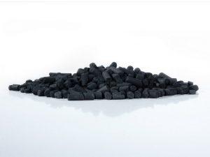 Carvão ativado para lagos