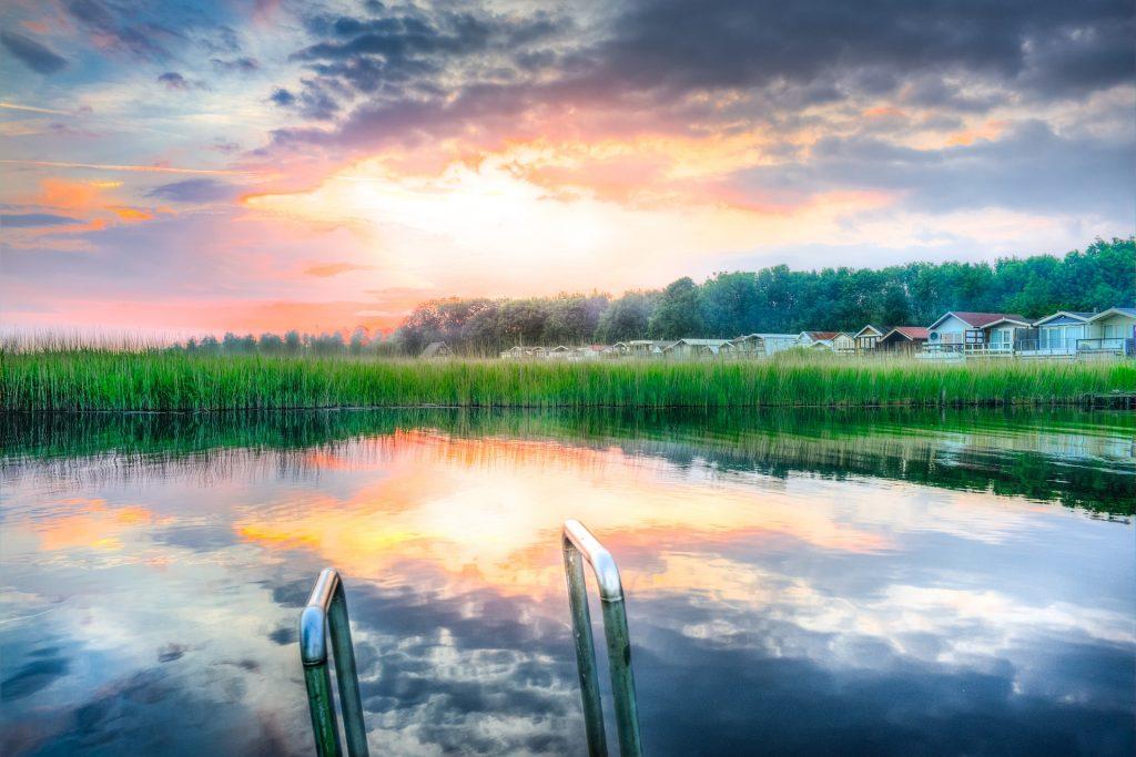 Tipos de lagos. Piscina biológica ou piscina natural